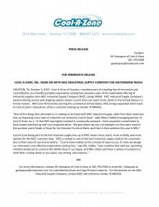 coolazone-press-release-sample